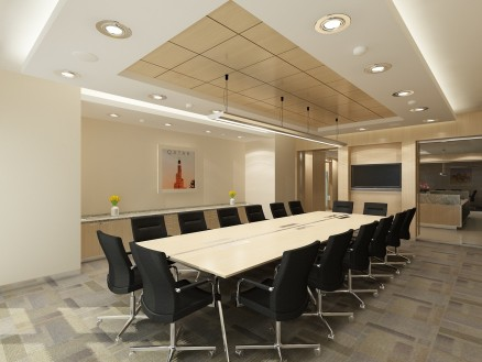 """Meeting room off main reception of Globex """"The Gate"""" Centre in Doha, Qatar!"""