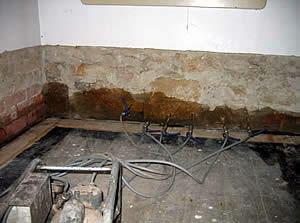 Rising Damp Course Chemical Installation