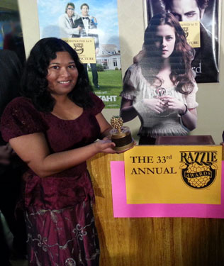 Thushari at Razzies 2013