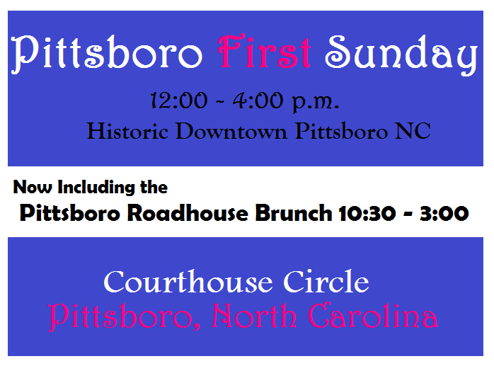 The Pittsboro Roadhouse to Open First Sundays 10:30 - 3:00 for Brunch
