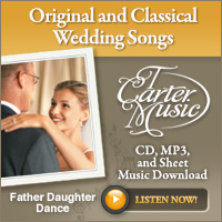 T Carter Wedding Music