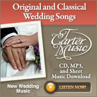 T Carter Wedding Music