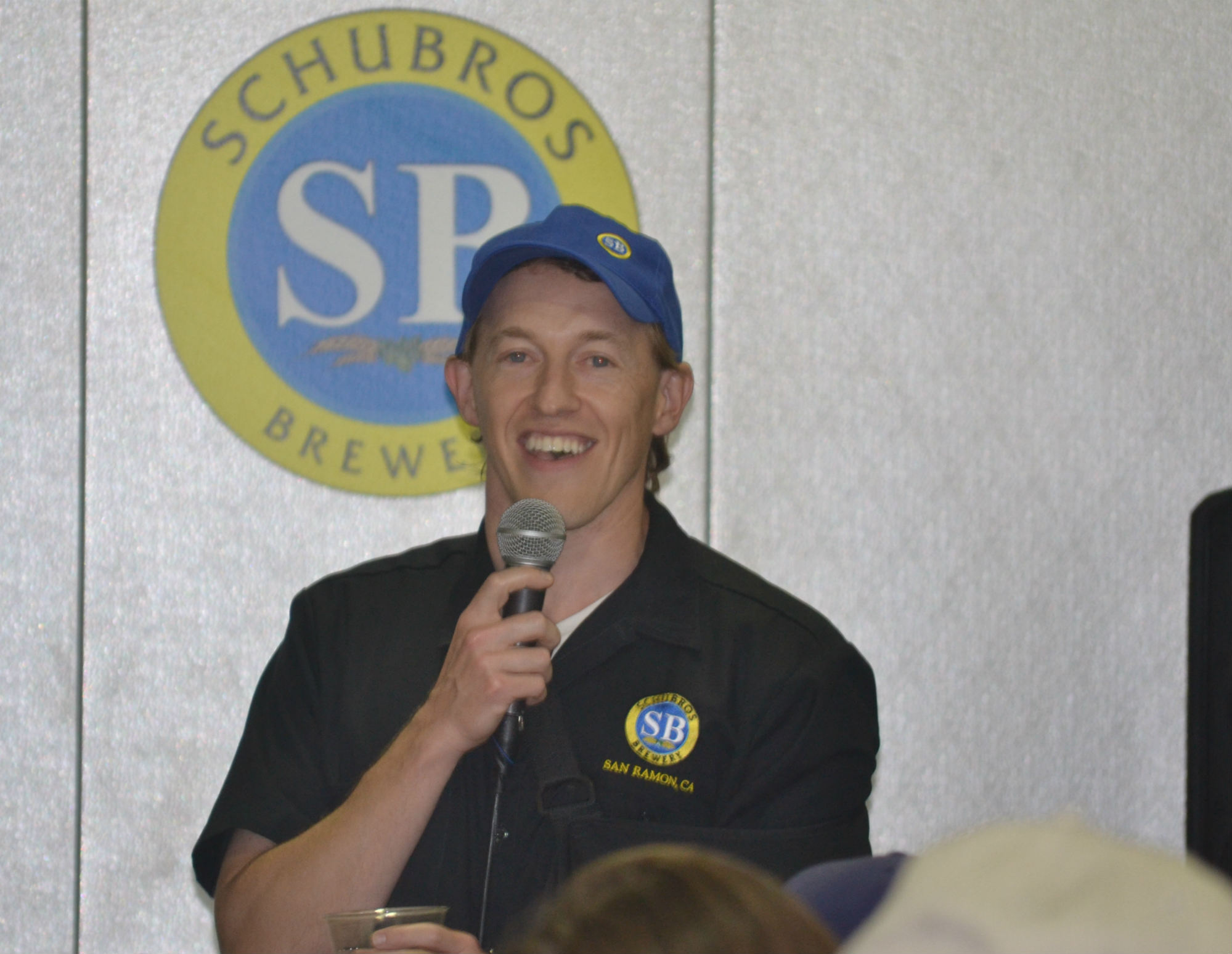 Schubros' President Ian Schuster addresses shareholders at their Distribution HQ