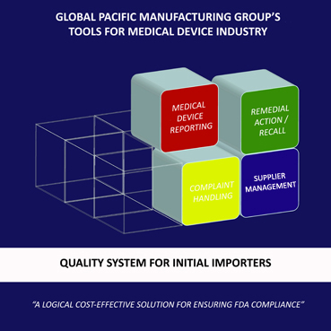QUALITY SYSTEM FOR MEDICAL DEVICE INITIAL IMPORTERS / DISTRIBUTORS