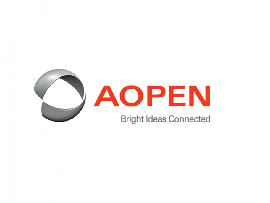 AOPEN's new logo