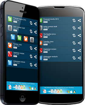Able2Extract Mobile PDF Converter