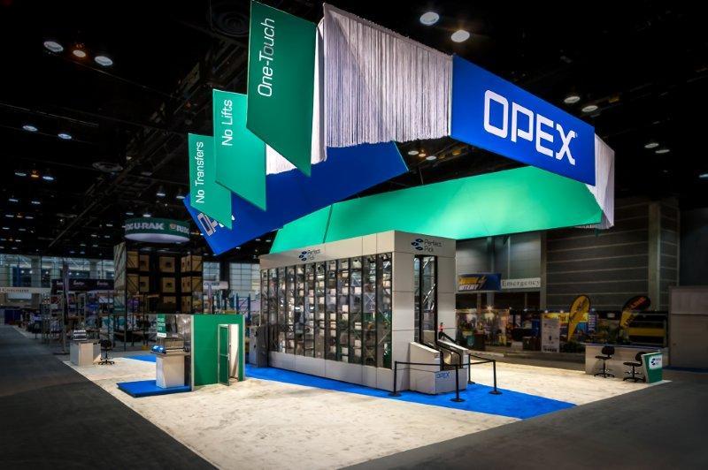 OPEX Corporation custom exhibit
