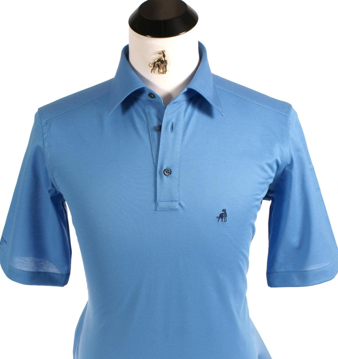 Tee Off Treccani Milano Custom Polo Shirts Bring Luxury In Italian