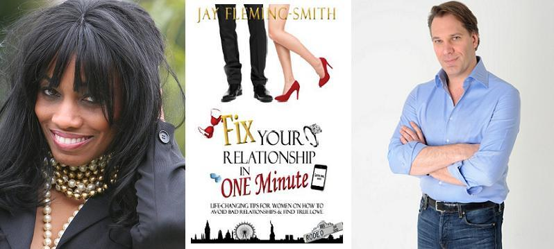 Host Candace Chambers-Belida and Jay Fleming-Smith
