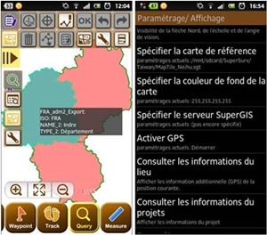 SuperSurv 3.1 supports French Interface