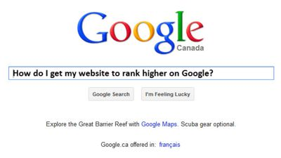 How To Get My Website High On Google