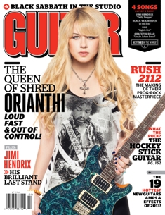 April Guitar World Magazine Cover