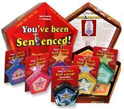 You've been Sentenced! word game and add on decks,