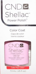 Cake Pop, one of four new CND Shellac colors