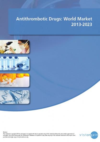 Antithrombotic Drugs World Market 2013-2023 Cover