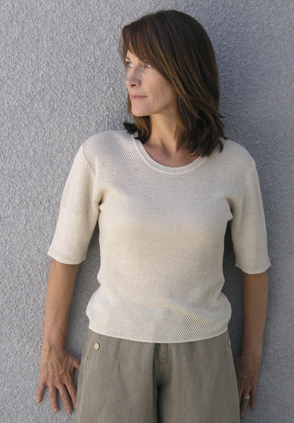 100% Hemp Hand Loomed Brookdale top