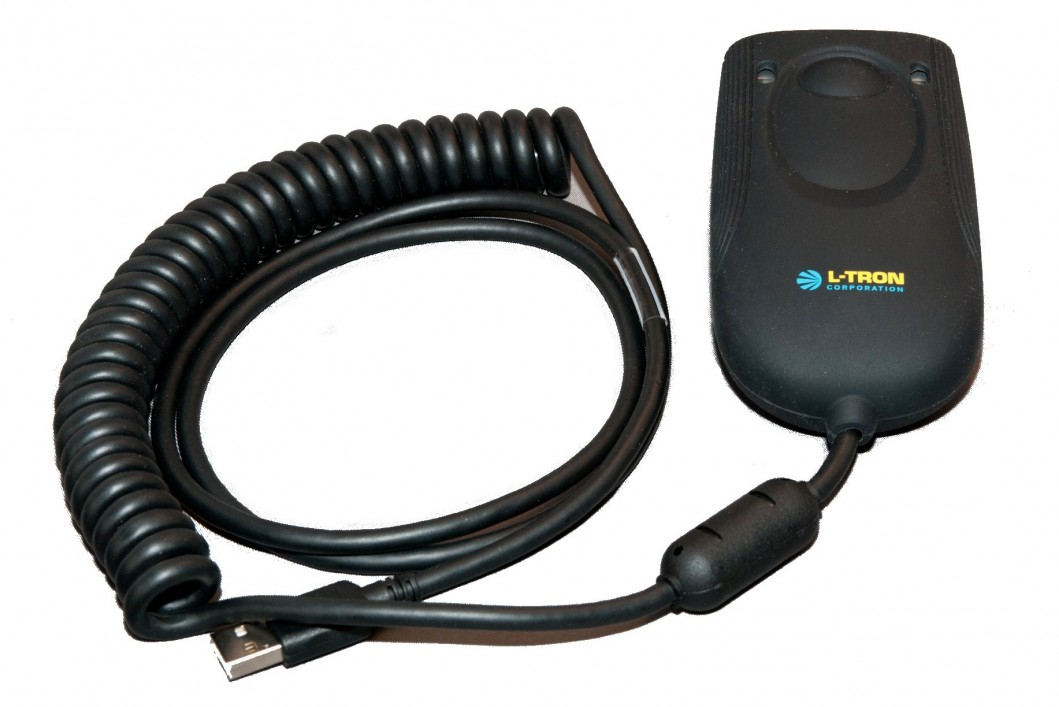 L-Tron's 4910LR Microphone-Style Driver's License Area Imaging Scanner
