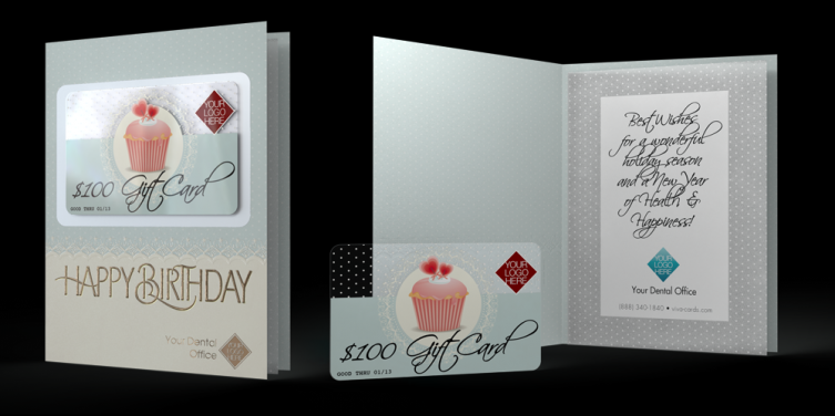 Birthday Cards - Cupcake Theme