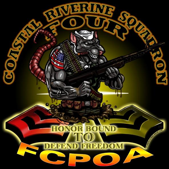 coastal riverine squadron four to receive their river rat