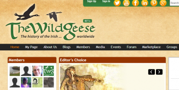 New look, new community capabilities at The (New) Wild Geese
