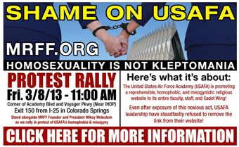 Billboard and Rally Information (Courtesy art)