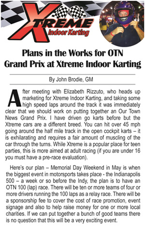 OTN Grand Prix at Xtreme Karting