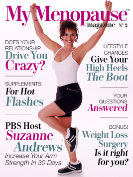 Suzanne Andrews Graces Cover of My Menopause Magazine