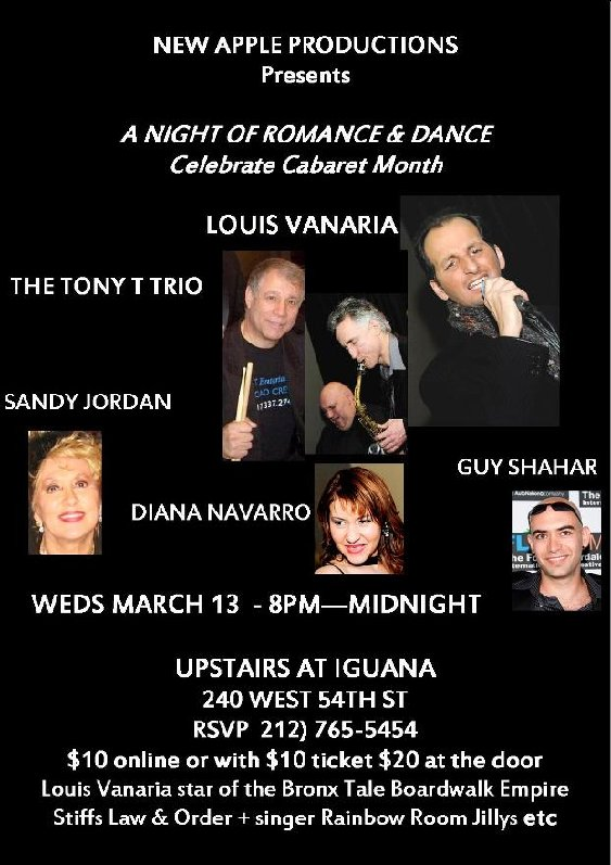 Celebrate Cabaret Month with Us