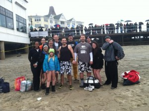 Jason Parsons and team HATR ready for the plunge!