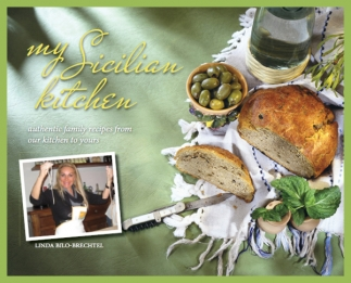 """my Sicilian kitchen"" Cookbook by Linda Bilo-Brechtel"