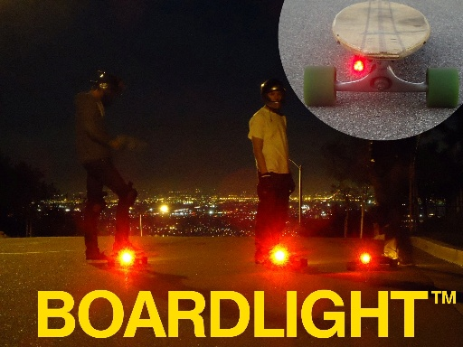 BOARDLIGHT longboard skateboard light