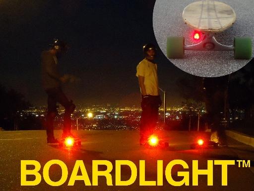 BOARDLIGHT longboard skateboard light