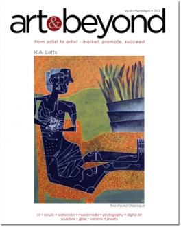Art & Beyond March/April Cover 2013