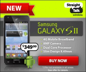 samsung galaxy s2 free shipping straight talk