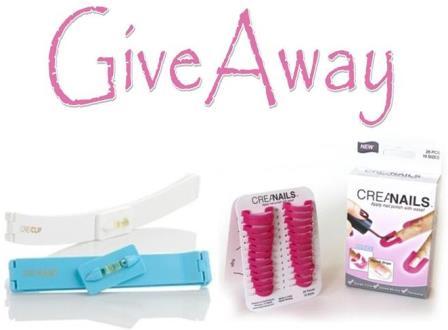 Giveaway CreaClip & CreaNails