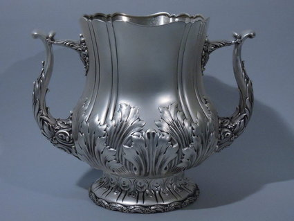 whiting sterling silver 2 handle trophy cup 1890