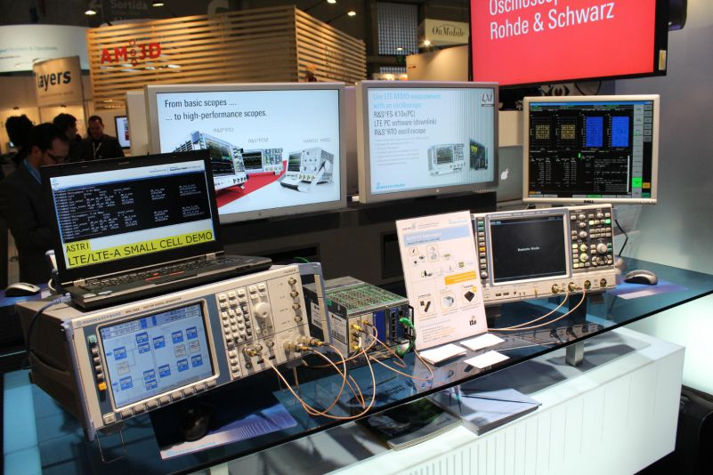 ASTRI and R&S demonstrate MIMO test solution on an LTE-Advanced small cell