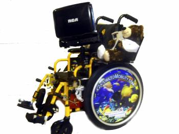 custom childrens wheelchair