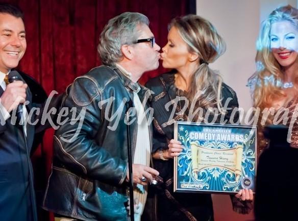 LACA: Groomzie gets onstage kiss from Tamara Henry, Reality TV Winner