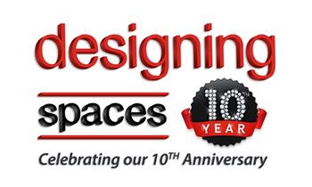 Designing Spaces Anniversary Logo