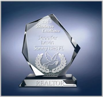 Jennifer Levin REALTOR of the YEAR-SUNNY ISLES BEA