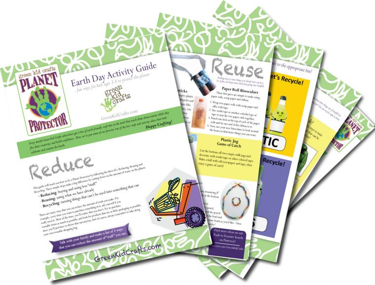 This free downloadable Activity Guide features crafts, games and more fun!