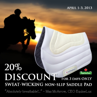 Jumper saddle pads