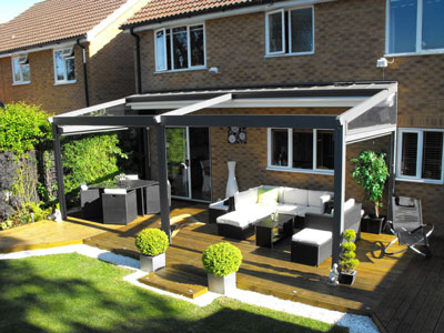 Introducing The Deans All Weather Retractable Terrace
