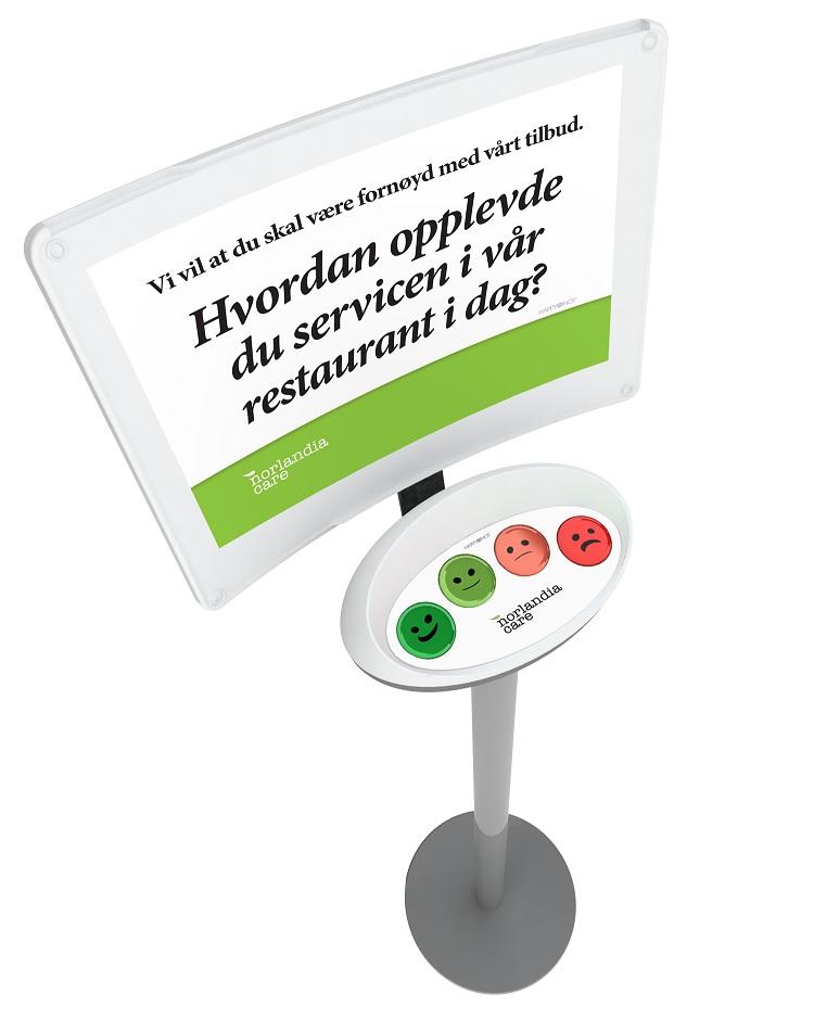 NorlandiaCare HappyOrNot meter