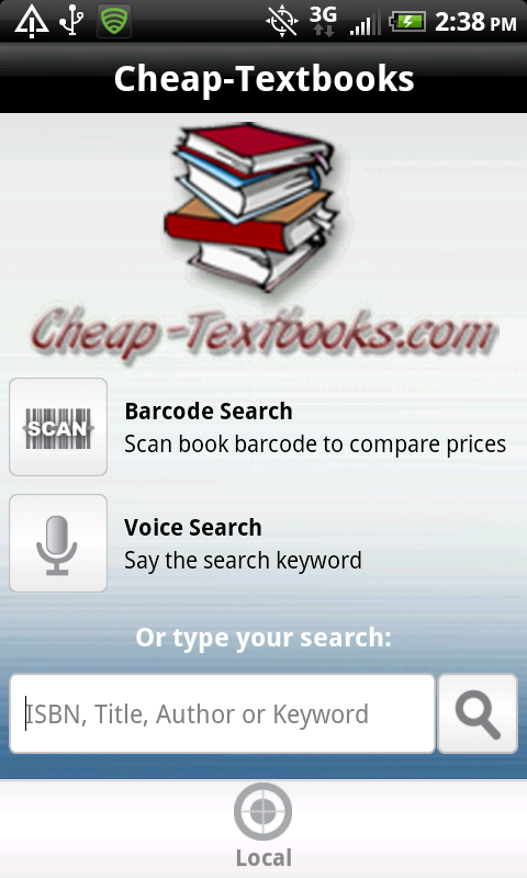 Cheap-Textbooks Android App
