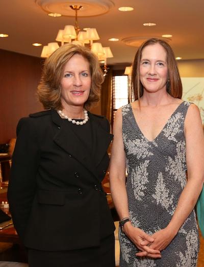 Sabadell's, Debra Vasilopoulos and gallery owner Kathryn McCarver Root