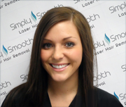 Morgan McIntire, RN-Certified Laser Provider at Simply Smooth Laser Hair Removal