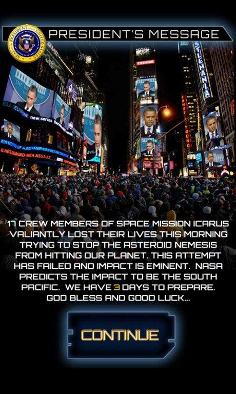 President Obama Message