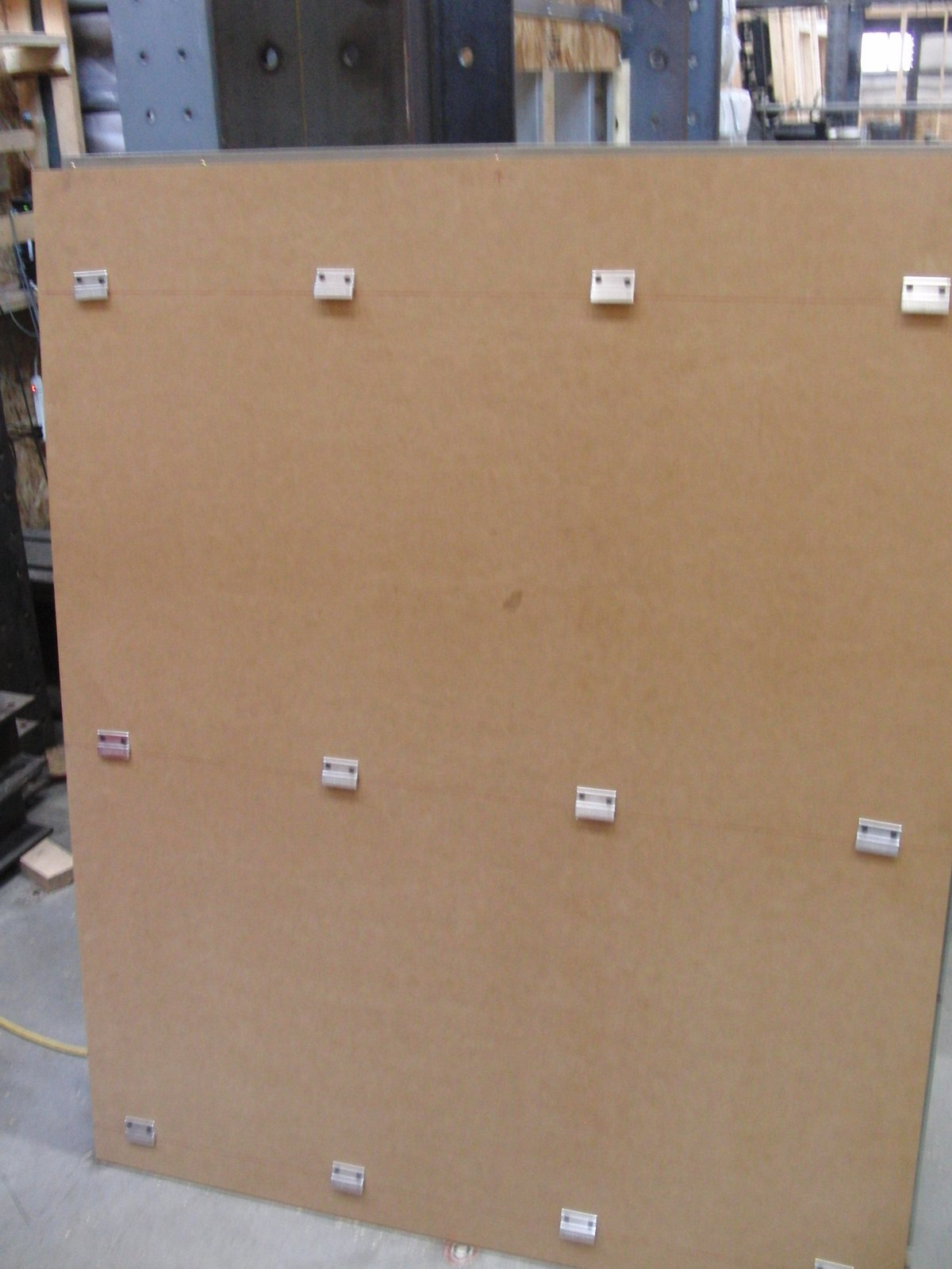 Metal Panel Clip System : Monarch metal panel mounting clip system tests at a